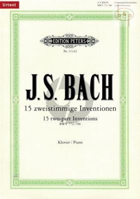 15 2 St. Inventionen BWV 772 - 786