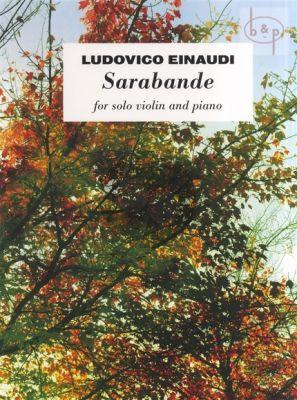 Sarabande Violin - Piano