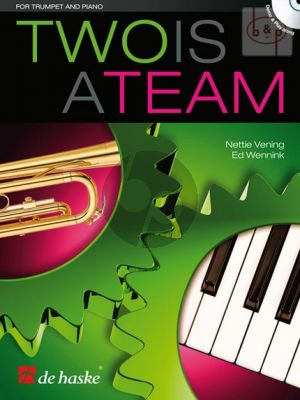 Two is a Team for Trumpet and Piano (Bk-Cd)