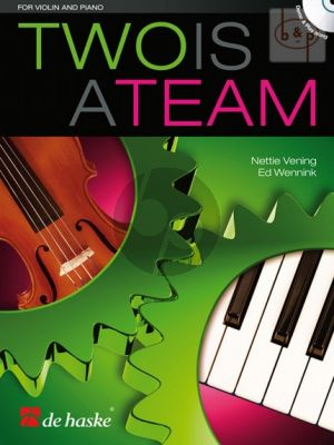 Two is a Team for Violin and Piano (Bk-Cd)