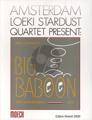 Leenhouts Big Baboon Tenor Recorder Solo