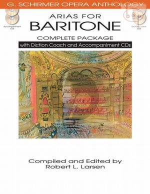 Opera Anthology Arias for Baritone (Complete Package)