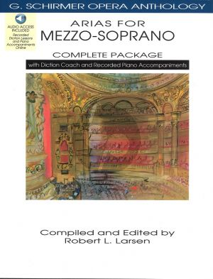 Opera Anthology Arias for Mezzo-Soprano (Complete Package) (Bk-Audio Access Code) (edited by Robert L.Larsen)