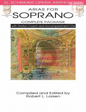 Opera Anthology Arias for Soprano (Complete Package)