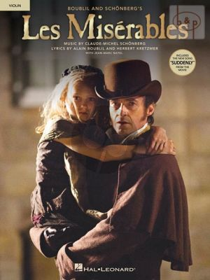 Les Miserables Instrumental Solos from the Movie Violin solo