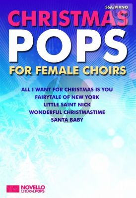 Christmas Pops! for Female Choirs SSA-Piano
