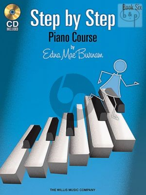 Step by Step Piano Course Vol.6
