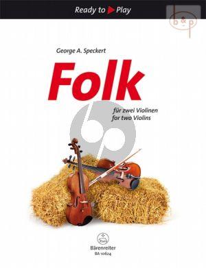 Folk for Two Violins