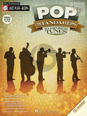 Pop Standards (Jazz Play-Along Series Vol.172)