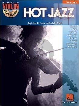 Hot Jazz (Violin Play-Along Series Vol.36) (Bk-Cd)