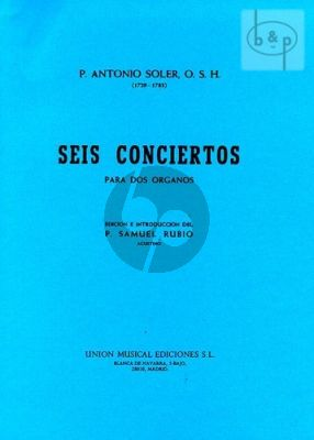 6 Concertos for 2 Organs