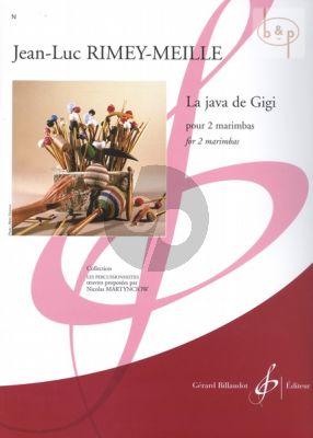 La Java de Gigi (2 Marimbas)