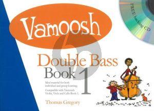 Gregory Vamoosh Double Bass Book 1 (Bk-Cd)