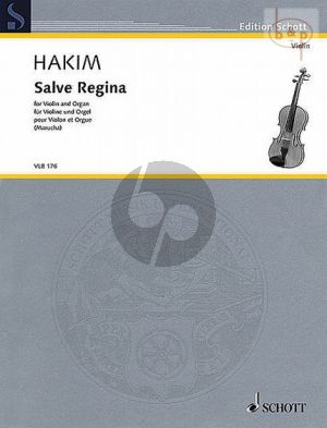 Salve Regina (2004) (Violin-Organ)