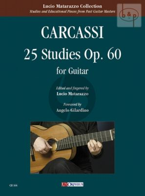 25 Studies Op. 60 for Guitar