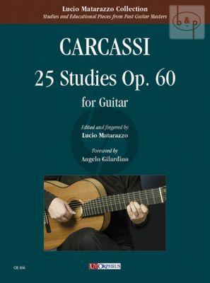 25 Studies Op. 60 for Guitar