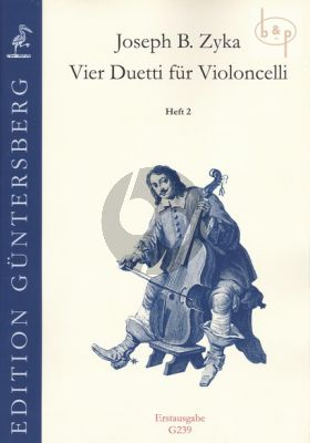 4 Duetti Vol.2 (Duetto F-major and A-major) (2 Violoncellos) (edited by G. von Zadow)