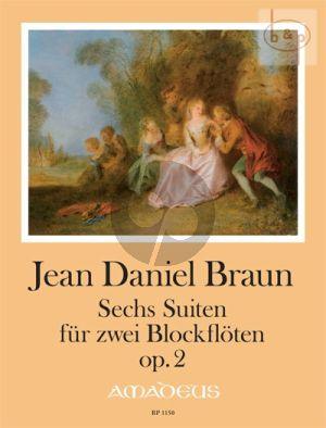 6 Suites Op.2 (2 Recorders[Fl./Ob./Vi.])