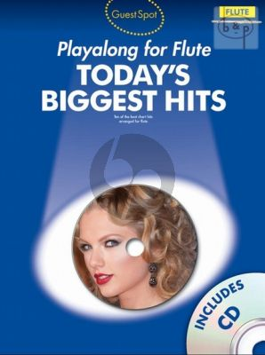 Guest Spot Today's Biggest Hits Play-Along (Flute)