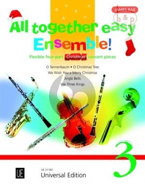 All Together Easy Ensemble! Vol.3 Christmas Concert Pieces for Flexible Ensemble)