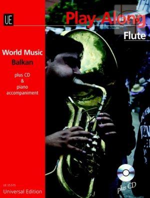 World Music Balkan Play-Along (Flute-Piano) (Bk-Cd)