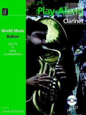 World Music Balkan Play-Along (Clarinet-Piano) (Bk-Cd)