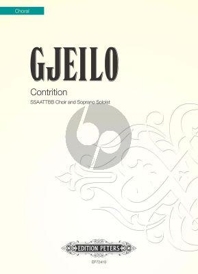 Gjeilo Contrition SSAATTBB with Soprano solo