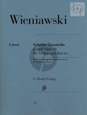 Scherzo-Tarantella g-minor Op.16