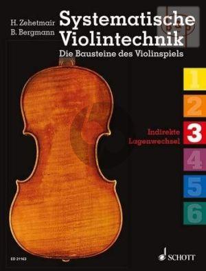 Systematische Violintechnik Vol.3 Indirekte Lagenwechsel