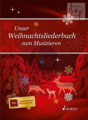 Unser Weihnachtsliederbuch zum Musizieren Medium Voice-Piano and Chords