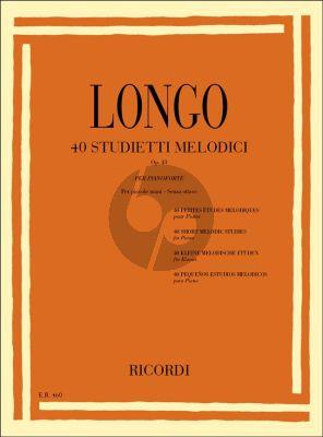 Polo 40 Studietti Melodici Op.43 Piano