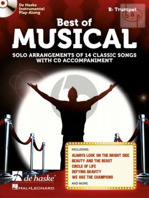 Best of Musical (Solo Arrangements of 14 Classic Songs) (Trumpet in Bb) (Bk-Cd)