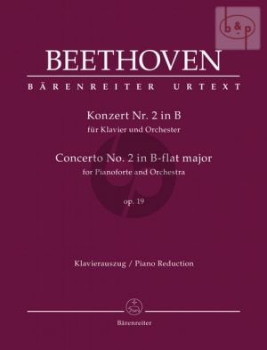 Concerto No.2 Op.19 B-flat major (Piano-Orch.) (piano red.)
