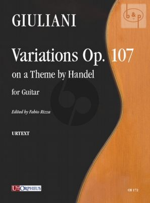 Variations on a theme by Handel Op.107
