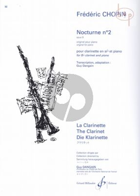 Nocturne Op.9 No.2 Clarinet - Piano