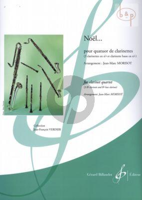 Noel... (3 Clar.[Bb]-Bass Clar.) (Score/Parts) (arr. Jean Marc Morisot)