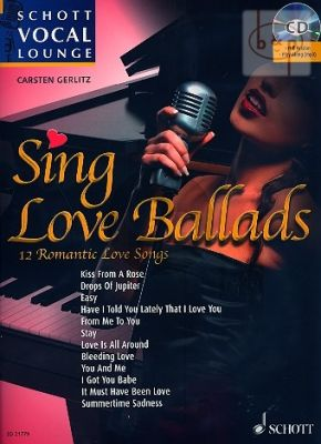 Sing Love Ballads (12 Romantic Love Songs) (Voice-Piano)