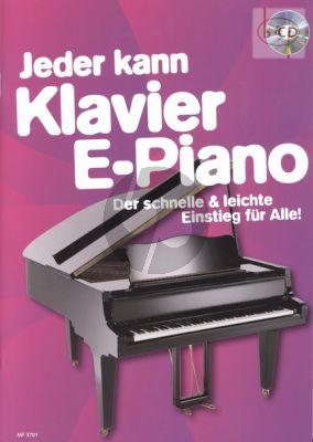 Jeder kann Klavier - E-Piano