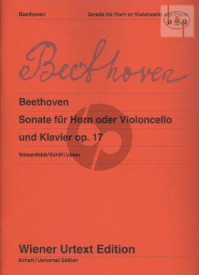 Sonata Op.17 Horn [Violoncello]-Piano