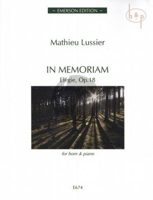 In Memoriam (Elegie) Op.18