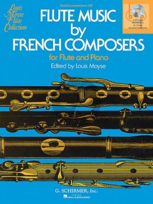 Flute music by French Composers (Flute-Piano)