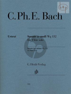 Sonate a-moll WQ 132 Flute solo