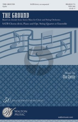 Gjeilo The Ground (Chorale from Sunrise Mass) SATB [div.]-Piano