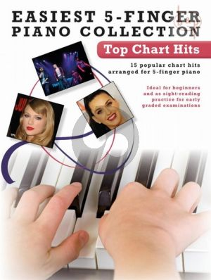 Easiest 5 Finger Piano Collection Top Chart Hits
