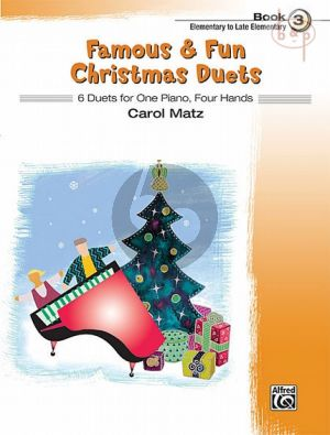 Famous & Fun Christmas Duets vol.3
