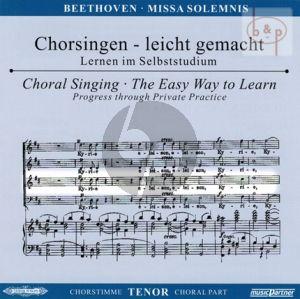 Missa Solemnis D-dur Op.123 (Soli-Chor-Orch.) (Tenor Chorstimme)