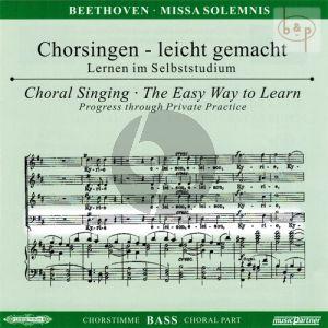 Missa Solemnis D-dur Op.123 (Soli-Chor-Orch.) (Bass Chorstimme)