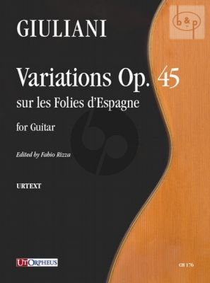 Variations sur les Folies d'Espagne Op.45 Guitar