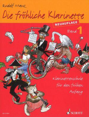 Mauz Die Frohliche Klarinette Vol.1 Book Only (Klarinettenschule für den frühen Anfang (Überarbeitete Neuauflage))
