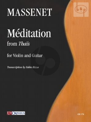 Meditation from Thais Violin and Guitar